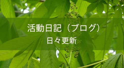 活動日記(ブログ)